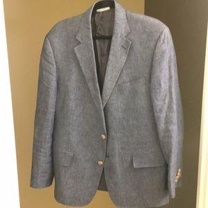 46R Nordstrom Men's Shop Linen Blazer Trunkclub